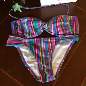 Victoria's Secret Multicolored 2piece Bikini
